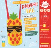Get Set Make Create Your Own Pineapple Bottle Bag Felt