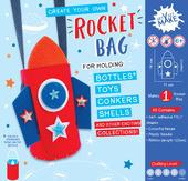 Get Set Make Create Your Own Rocket Bottle Bag Felt