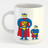 Super Dad Mug In A Gift Box Father's Day Mug