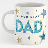 Super Star Dad Mug In A Gift Box Father's Day Mug