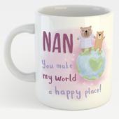 Cute Bear Nan You're The Best Mug In A Gift Box Mother's Day Mug