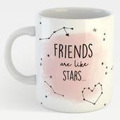 Friends Are Like Stars You Can't Always See Them Mug In A Gift Box Mug
