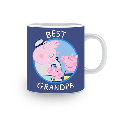 Peppa Pig Best Grandpa Mug In A Gift Box Gifts