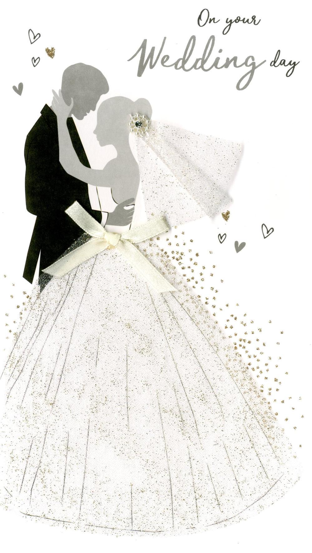 wonderful wedding greeting card handfinished  cards