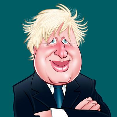 Boris Johnson Birthday Greeting Sound Card Blank Inside