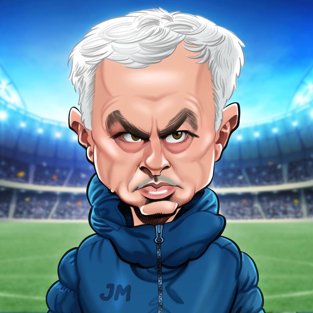 Jose Mourinho Birthday Greeting Sound Card Blank Inside