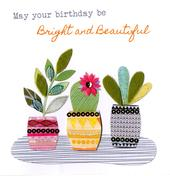 Pretty Plants Bright & Breezy Birthday Greeting Card