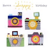 Cameras Bright & Breezy Birthday Greeting Card