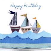 Sailing Bright & Breezy Birthday Greeting Card