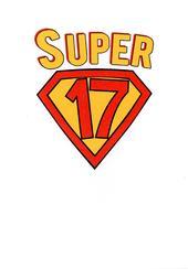 Boys Super 17th Birthday Greeting Card