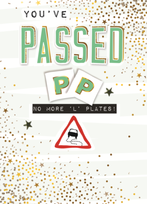 You've Passed Greeting Card