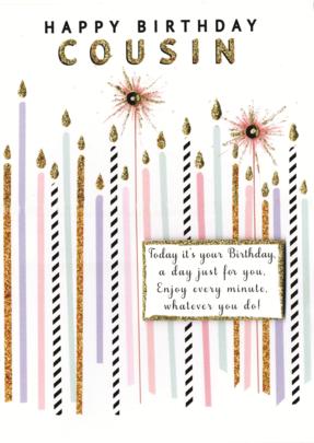 Happy Birthday Cousin Greeting Card