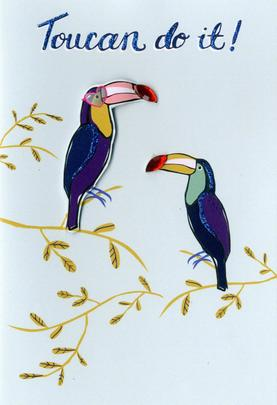 Toucan Do It Any Occasion Greeting Card