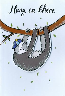 Hang In There, Sloth Any Occasion Greeting Card