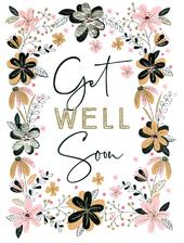 Get Well Soon Gigantic Greeting Card  A4 Sized Cards
