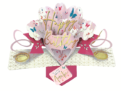 Special Auntie Happy Birthday Pop-Up Greeting Card