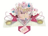Amazing Daughter Happy Birthday Pop-Up Greeting Card