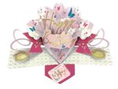 Wonderful Mother Happy Birthday Pop-Up Greeting Card