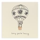 Sorry You're Leaving Hot Air Balloon Pencil Shavings
