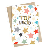 Top Uncle Greeting Card