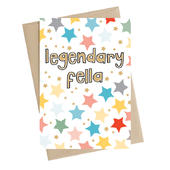 Legendary Fella Greeting Card