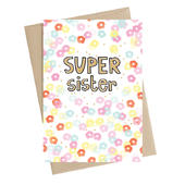 Super Sister Greeting Card
