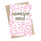 Beautiful Niece Greeting Card