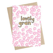 Lovely Gran Greeting Card