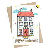 New Palace New Home Greeting Card