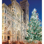 Pack of 5 Cathedral In Italy Christmas Cards
