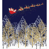 Pack of 5 Sleigh Ride Charity Christmas Cards