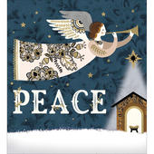 Pack of 5 Peace On Earth Charity Christmas Cards