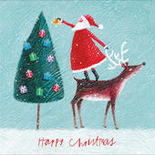 Pack of 5 Spirit Of Christmas Cards