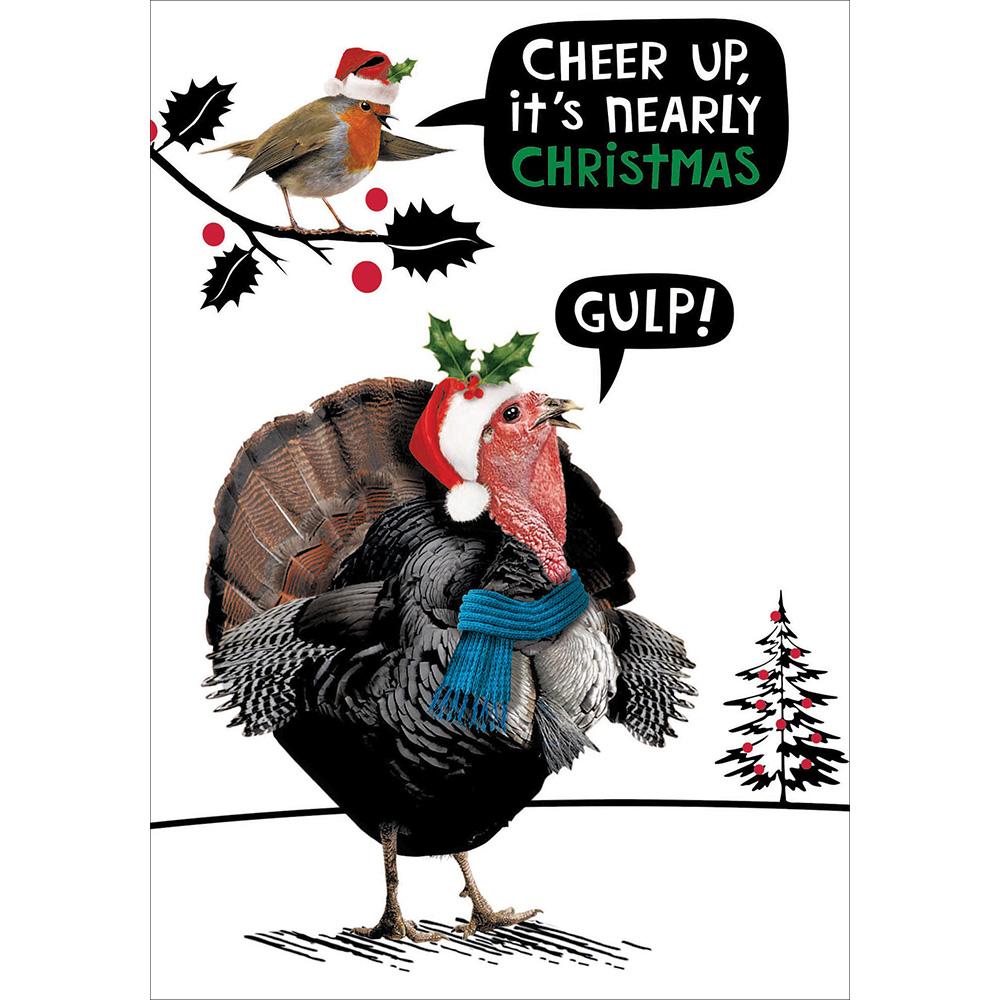 Christmas Shopping Online Funny Crackerjack Christmas Card Animal Humour Cards