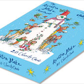 Box of 20 Quentin Blake Assorted ChildLine Charity Christmas Cards