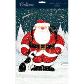 Father Christmas & Dog Traditional Caltime Christmas Advent Calendar