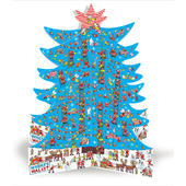 Where's Wally? Freestanding Tree Caltime Christmas Advent Calendar