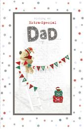 Boofle Extra Special Dad Christmas Greeting Card