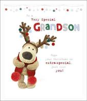 Boofle To A Very Special Grandson Christmas Greeting Card