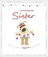 Boofle An Extra Special Sister Magical Christmas Greeting Card