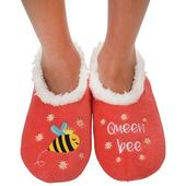 Snoozies! Coral Queen Bee Ladies Medium