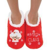 Snoozies! Xmas Family Mrs Claus Ladies Medium