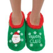 Snoozies! Xmas Family Grandpa Claus Mens Medium