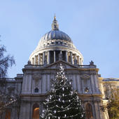 St Paul's Cathedral Musical Christmas Card