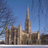 Salisbury Cathedral Musical Christmas Card