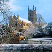 Worcester Cathedral Musical Christmas Card