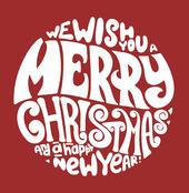 Carol Singers Musical Christmas Card