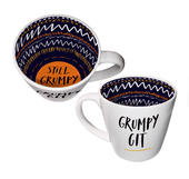 Grumpy Git Inside Out Mug