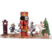 The Nutcracker Ballet Pop-Up Christmas Greeting Card