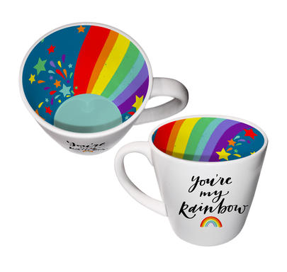 You're My Rainbow Special Inside Out Mug